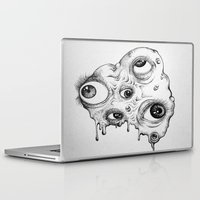 the thing Laptop & iPad Skins featuring Thing by Isabel Moffly