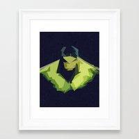 hulk Framed Art Prints featuring Hulk by Javier Martinez