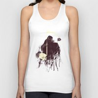 death Tank Tops featuring Death Note by Tobe Fonseca