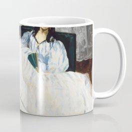 Edouard Manet - Woman with a Fan Coffee Mug