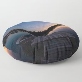 Muskoka Sunset Floor Pillow
