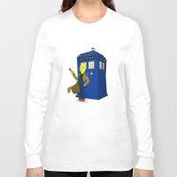 lemongrab Long Sleeve T-shirts featuring Doctor Lemongrab  by MUSENYO