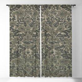 Grey Acorn Blackout Curtain