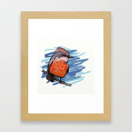 Vermillion Flycatcher Framed Art Print