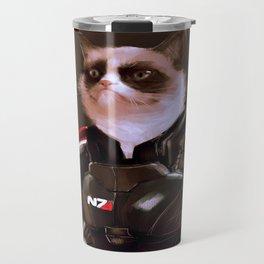 Commander Grumpy Travel Mug