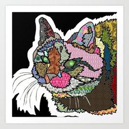 Mi Otra Gato Muerto Art Print