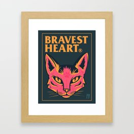 Bravest Heart Framed Art Print
