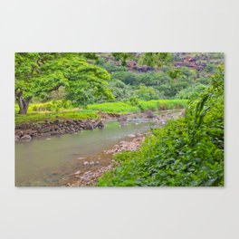 Waimea Valley Canvas Print