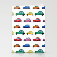 italian Stationery Cards featuring Italian cars  by Katerina Izotova Art Lab