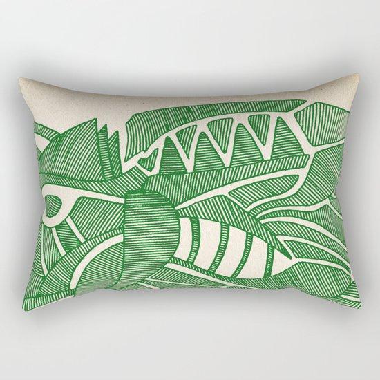 - green hope - Rectangular Pillow