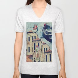 Maria, it's time to teenage riot Unisex V-Neck