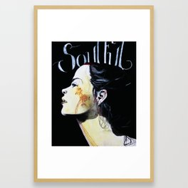 soulful Framed Art Print