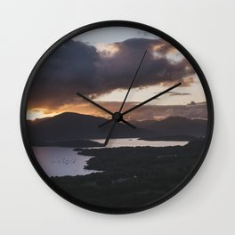 Loch Lomond - Landscape and Nature Photography Wall Clock
