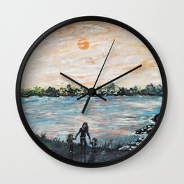 A Mother's Day Blessing Wall Clock