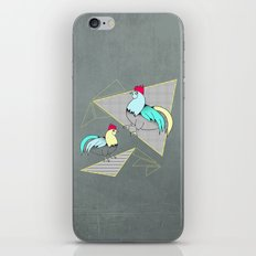 Coq français - French rooster iPhone & iPod Skin