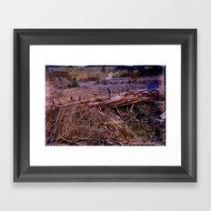 Centralia Outback, revisited Framed Art Print