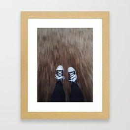 Nostalgic Blur  Framed Art Print