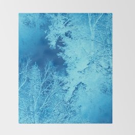 Icy Winter..... Throw Blanket