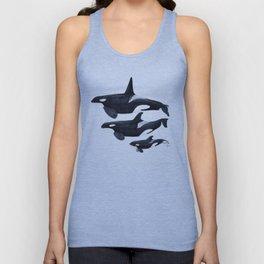 Orca (Orcinus orca) Unisex Tank Top
