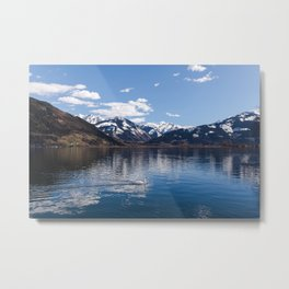 Zell-am-See Lake Metal Print