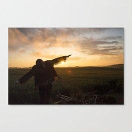 Wasting Light Canvas Print