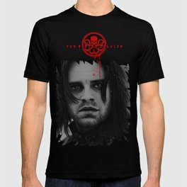 "Bucky Barnes ""The Winter Soldier"" Portrait T-shirt"