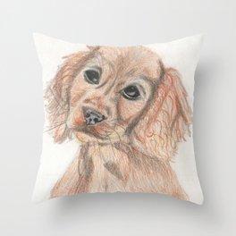Please love me! Throw Pillow