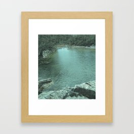 Secluded Oasis Framed Art Print