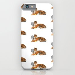 Tennis Tiger iPhone Case
