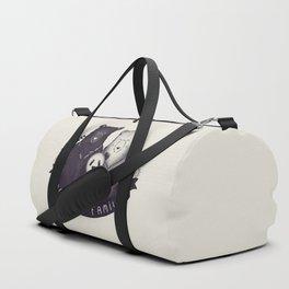 Modern Bear Family Duffle Bag