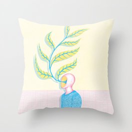 The Renaissance of Yourself Throw Pillow