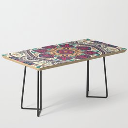Colorful Mandala Pattern 006 Coffee Table
