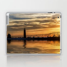 The Pier at Grand Haven Laptop & iPad Skin
