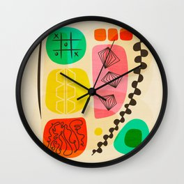 Knolling Formations 2 Wall Clock