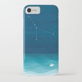 Cancer zodiac constellation iPhone Case