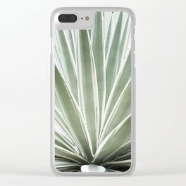 Tropical Century Plant Photography  Clear iPhone Case