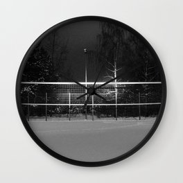 Winter Games Wall Clock