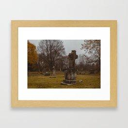 Centralia, Pennsylvania Cemetery Framed Art Print