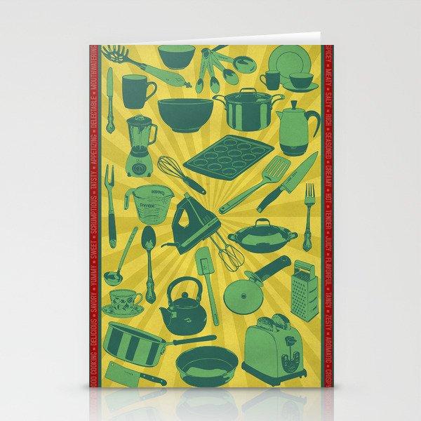 Kitchenware!  Stationery Cards