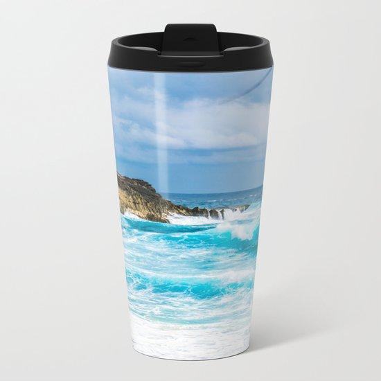 Wild Azur Metal Travel Mug