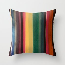 Serape 1 Throw Pillow