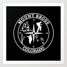 MOUNT BROSS Art Print