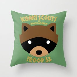 Camp Ivanhoe Throw Pillow