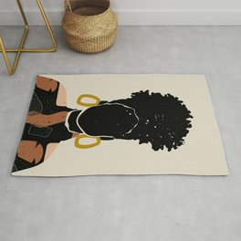 Black Hair No. 14 Rug