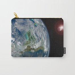 earth, moon and sun Carry-All Pouch