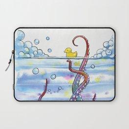 Bath Time Octopus Laptop Sleeve
