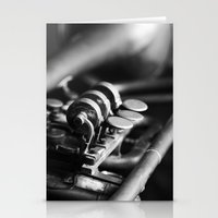 trumpet Stationery Cards featuring Trumpet by Falko Follert Art-FF77