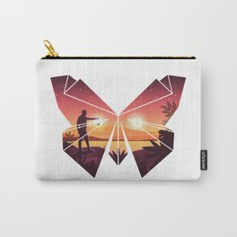Origami Butterfly Carry-All Pouch