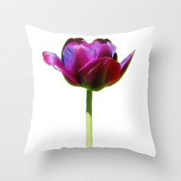 Born In The Purple Throw Pillow