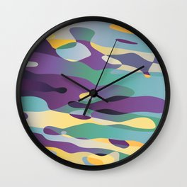 Reflective Exchange Wall Clock